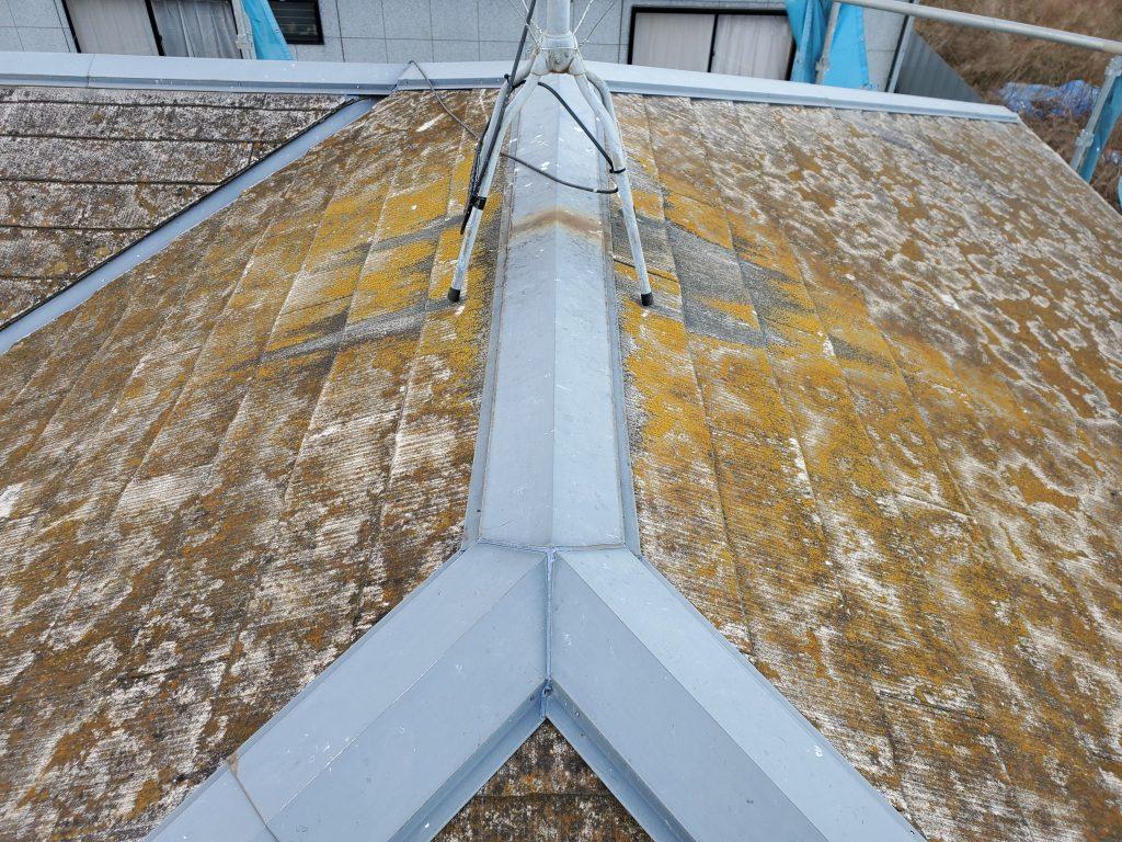 屋根塗装 塗装はがれ